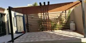 تصاميم مظلات حدائق منزلية , برجولات