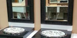 ديكورات مغاسل حمامات رخام